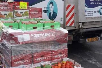 Chasdei Eran's big truck